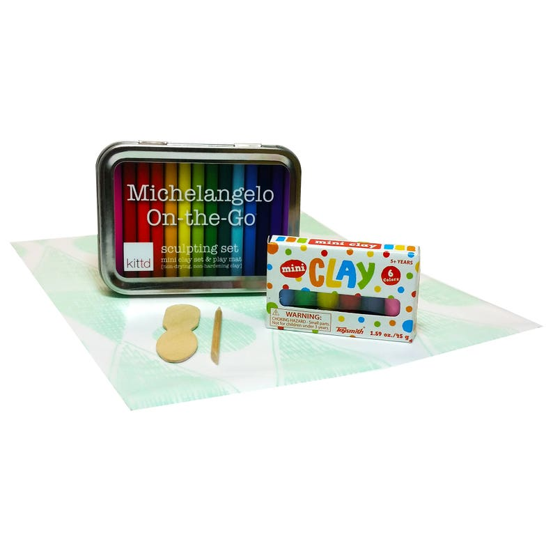 Michelangelo On-the-Go Travel Clay Sculpting Set  Free image 0