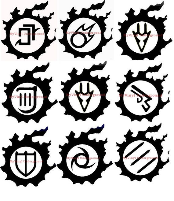 FFXIV Job Icon Vinyl Decals