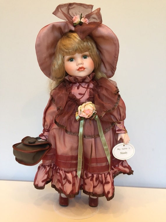 Leonardo Collectors Porcelain Doll