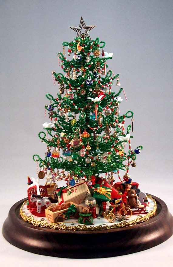 For Westrim Beaded Mini Christmas Tree* Under Tree Decoration *Craft Basket*