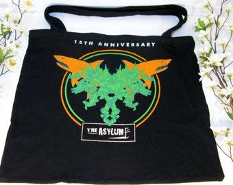 Upcycled T-Shirt Bag, The Asylum, 15th Anniversary
