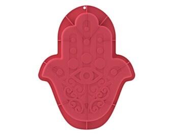 Moule à gâteaux oriental en forme de main de Fatma en silicone