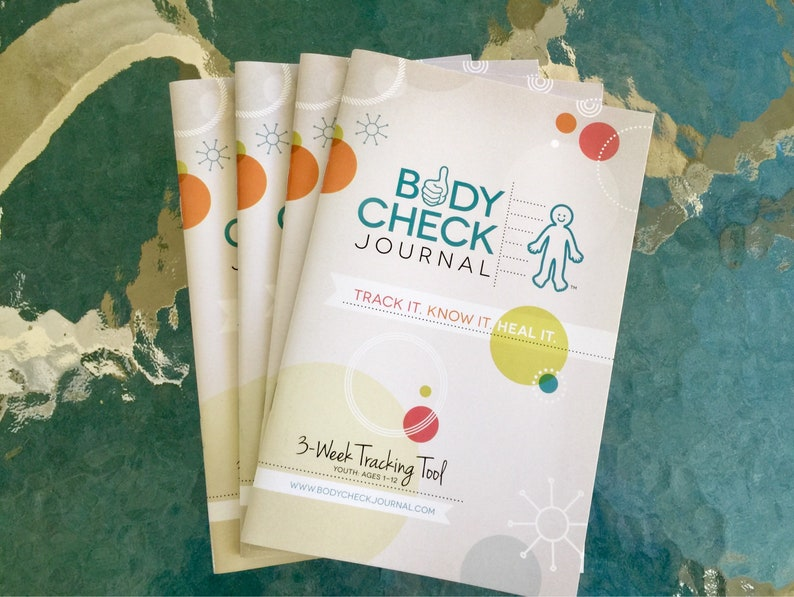 Body Check Journal  Kid's Medical Tracking Health Journal image 0