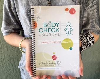Body Check Journal - Kid's Medical Tracking Health Journal, chronic illness, food diary, diabetes, autism, COVID-19, coronavirus symptoms