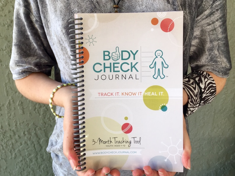 Body Check Journal  Kid's Medical Tracking Health image 0