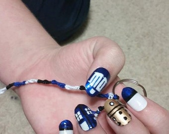 Doctor who nails | Etsy