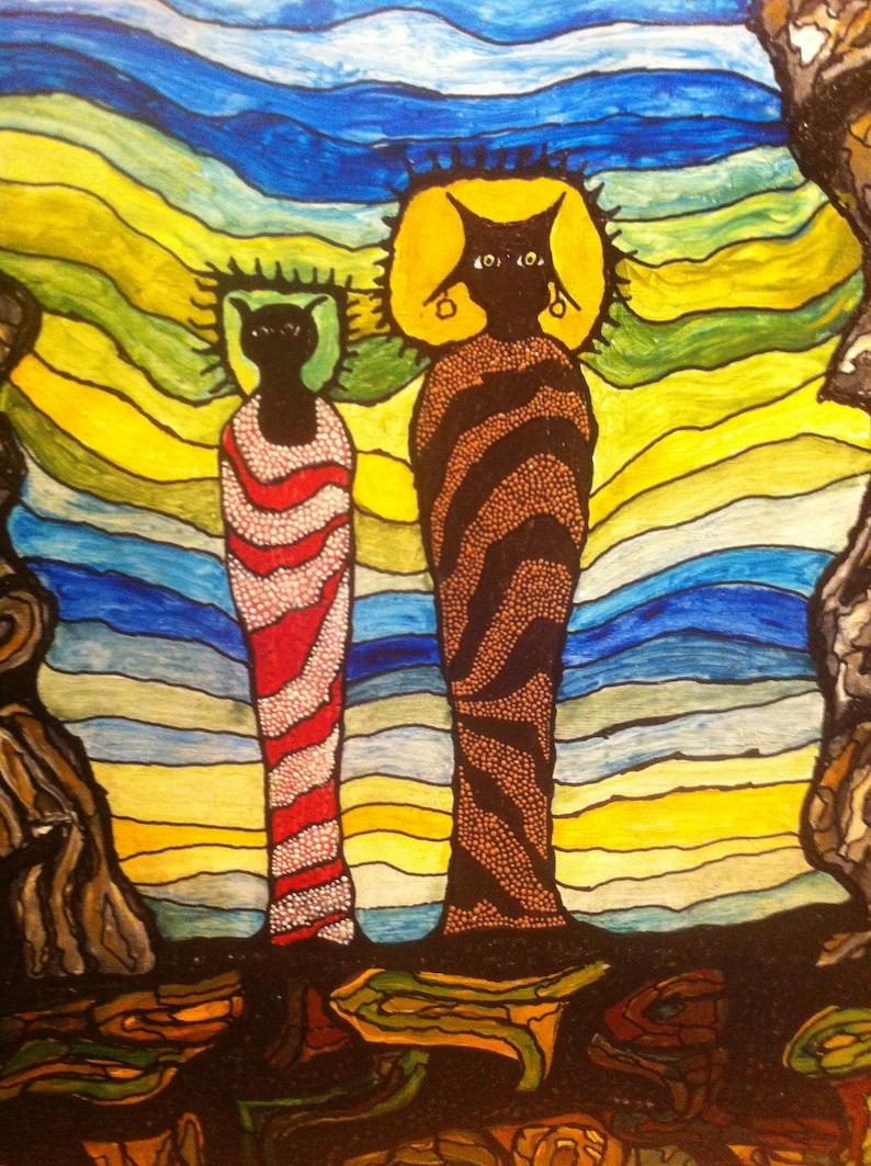 Mystic Art: The Arrival of 2 Anasazi Shamans
