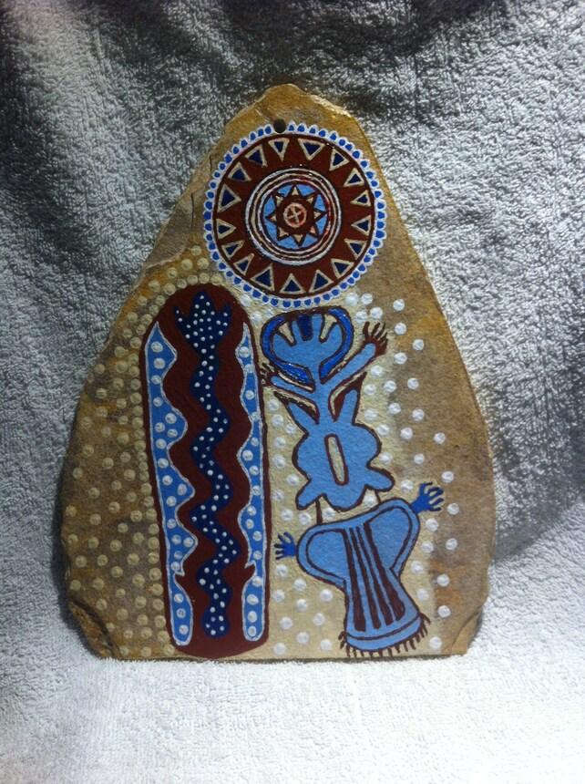 Cosmic Native Chumash Indian Art The Shaman The Milky Way Etsy