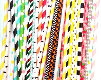 Wholesale Variety Mixed Straws | Wholesale Paper Straws | Clearance Straws