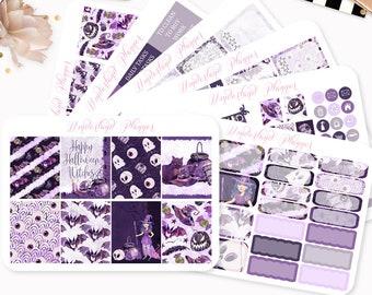 Hocus Pocus - Sticker Kit or A La Carte Sheets - Halloween Themed Planner Weekly Kit - 180+ Stickers - Erin Condren Vertical Planner