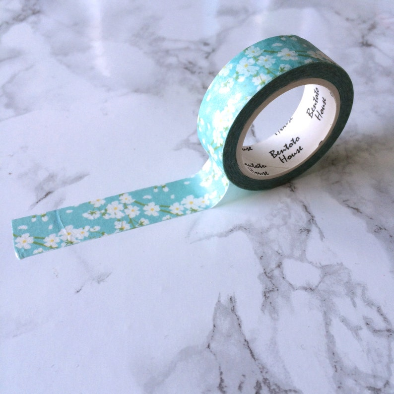 Floral Daisy Washi Tape // Decorative Paper Masking Drafter image 0