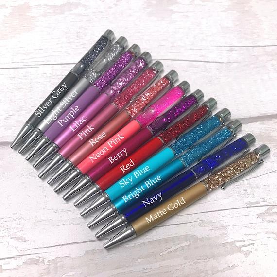 Confezione di 10 PENNE GEL più brillante /& Sparkle Glitter per casa scuola ufficio UK Venditore