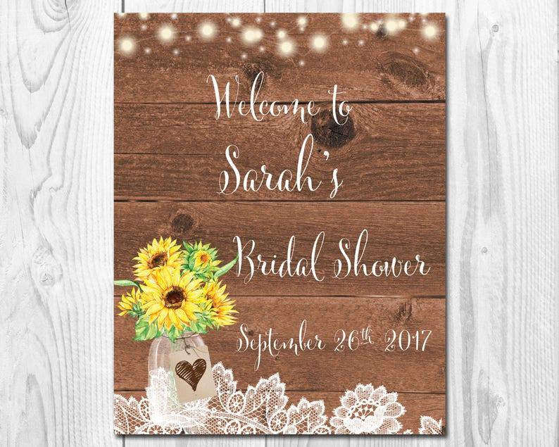 09ec789c3bbb Bridal Shower Welcome Sign Printable Wedding Welcome Sign