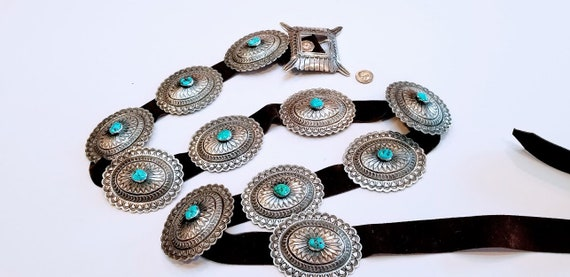 Indian concho belt