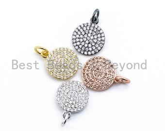 5 Pcs 7x11mm Rhodium Plated Beads ZRCN272 CZ Crown Charms Micro Pave Beads Micro Pave Bracelet Beads Crown Charms CKT Silver Charms
