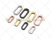 12x25 8x17mm Spring Gate, Gold Silver Gunmental Oval Clasp, Snap Clip Trigger Clasp, Spring Buckle for Chain Purse Key Jewelery, Sku H321
