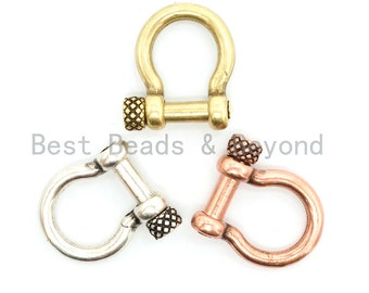Stainless Steel Screwed O Ring Clasp Anchor Shackle Adjustable For Key Chain Paracord Bracelet Bag Leather Belt Diy Accessories Home & Garden