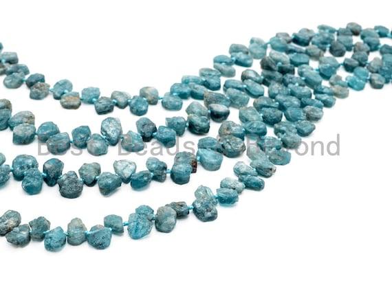 Quality Natural Kyanite Beads, 11-14mm, Irregular Teardrop Natural Blue Gemstone Beads, 15.5inch strand, SKU#U165