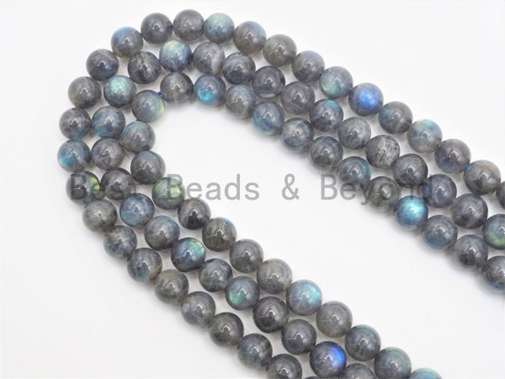 High Quality Natural Smooth Round Labradorite beads, 6mm/8mm/10mm Gemstone beads, Natural Labradorite Beads,15.5inch strand, SKU#U419