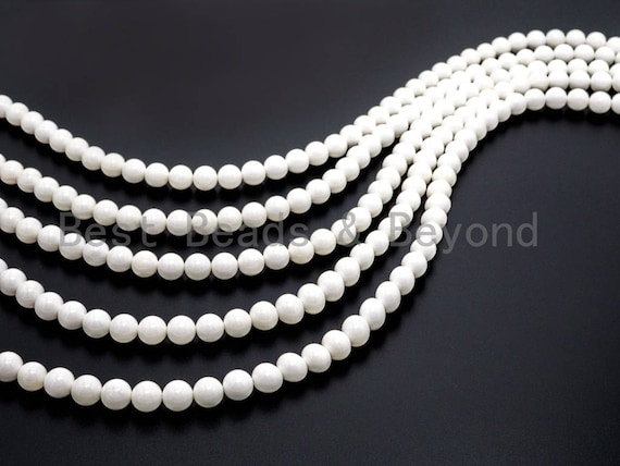 Quality Natural Round AB Color MOP Pearl Shell Beads, 8mm/10mm/12mm/14mm/20mm, White Pearl Beads,Shell Beads, 15inch Full strand, SKU#U52