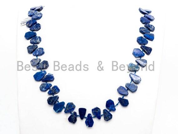 Quality Natural Lapis beads,15-19mm,Heart Shape/ Teardrop Shape Top drill Gemstone Beads, 15-16inch strand, SKU#U161