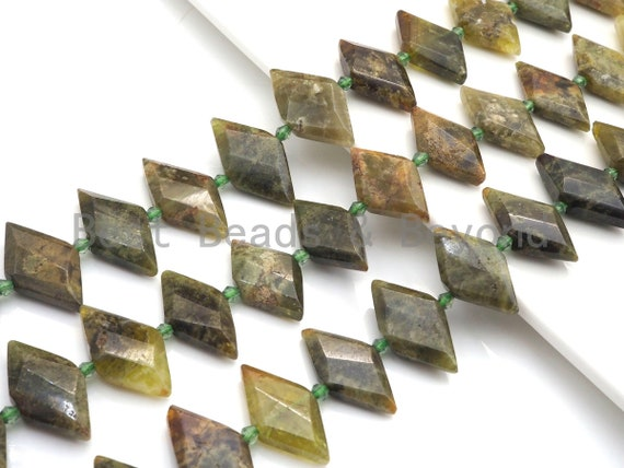 High Quality Natural Green Garnet Horse Eye Shape Beads, Natural Green Garnet beads, 16x30mm, sku#U677
