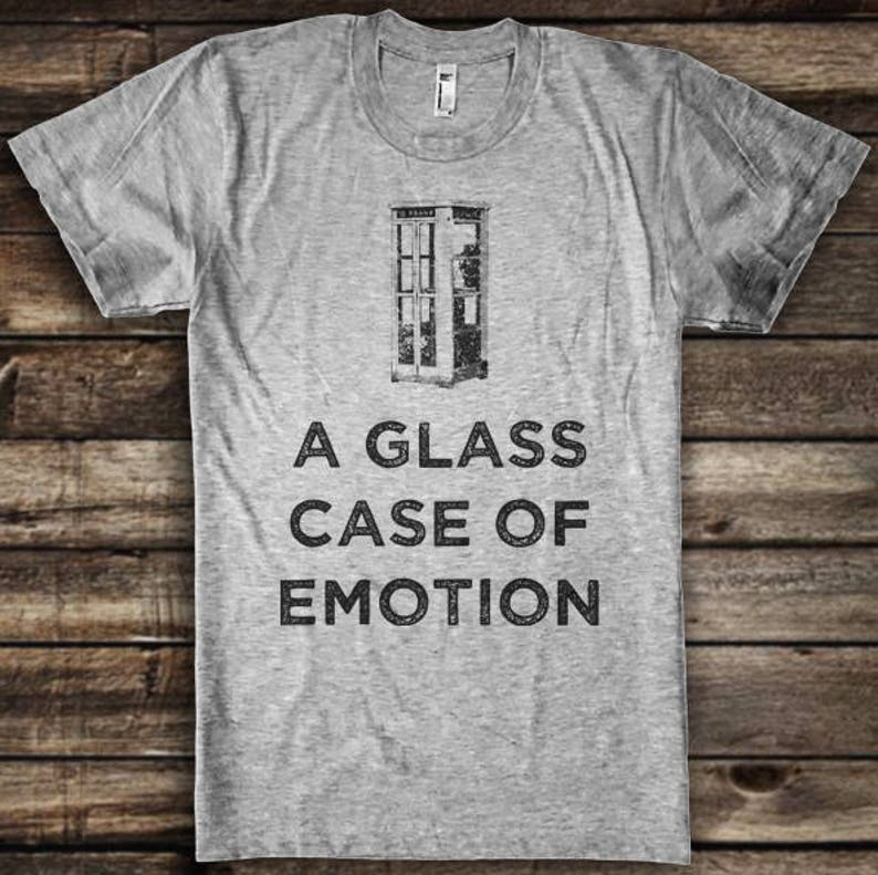914f5547 I'm in a Glass Case of Emotion Funny Anchorman Shirt Ron   Etsy