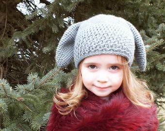 dd643260e3d CROCHET PATTERN - Avery Bunny Hat - Sizes Newborn