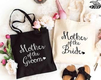 Mother of the Bride or Mother of the Groom, Bride Bag, Bridesmaid Tote, Bridesmaid Bag, Wedding Day Tote, Wedding Totes