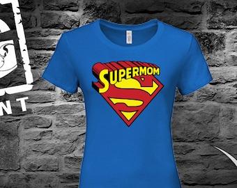 cdfed0987a52f Supermom shirt | Etsy