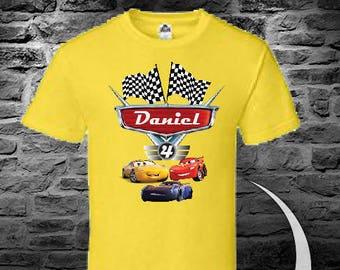 Cars Lightning McQueen birthday shirt