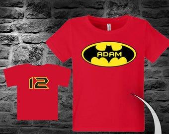 b50ce33b Batman Birthday Shirt Batman Shirt