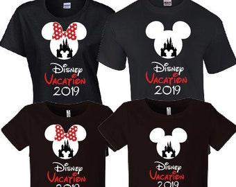 46cdee184ce9 Disney Family Vacation 2019 Shirts