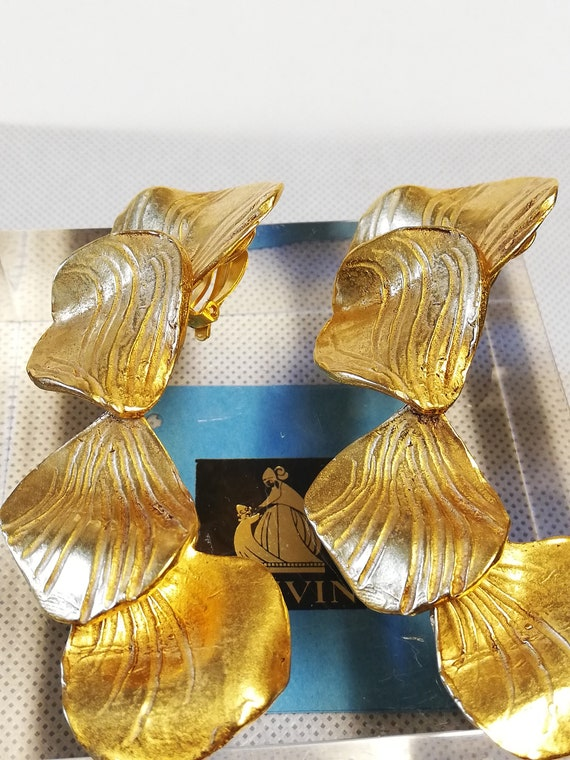 Earrings clips hanging Lanvin. Collection 'pet pe… - image 6