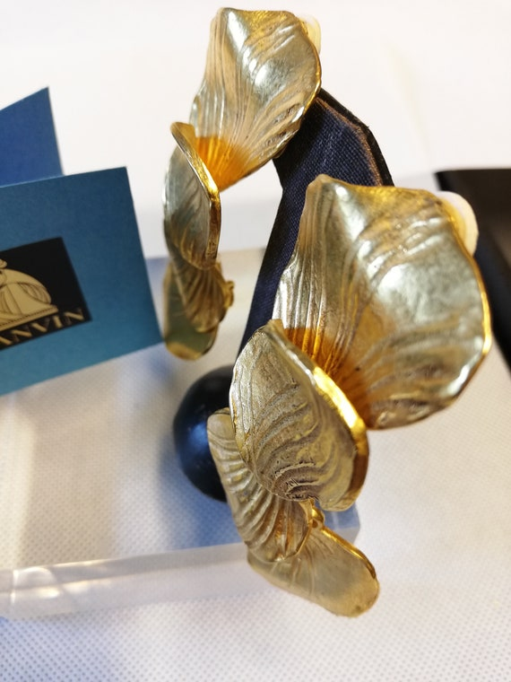 Earrings clips hanging Lanvin. Collection 'pet pe… - image 4