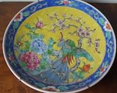 Vintage Japanese Yamatoki Meiji Imari Big Plate 31cm 12.2 quot
