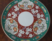 Vintage Japanese Yamatoki Meiji Imari Plate Diameter 31,5cm 12 39 39