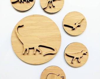 Dinosaur playdough stamps, playdough stampers