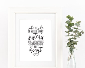 Sister Quote Etsy