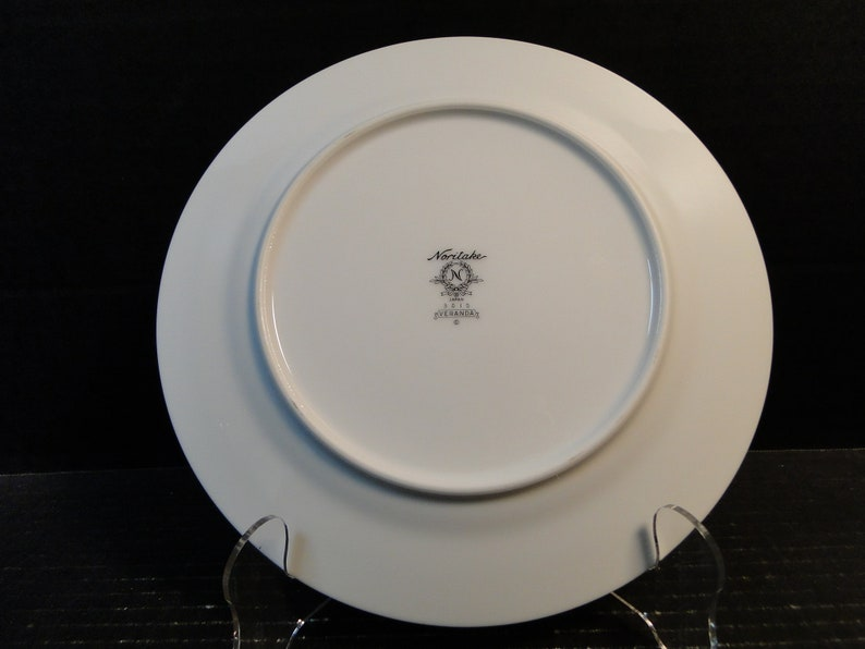 Noritake Veranda Salad Plates 3015 8 14 Set of 4 Excellent