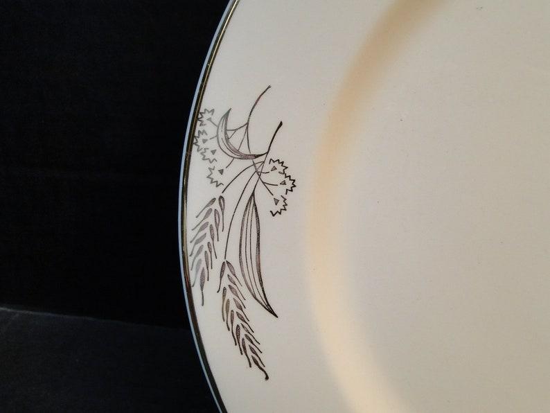 Lifetime China Prairie Gold Dinner Plates 10 14 Alliance Ohio Wheat Set of 2 EXCELLENT