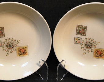 TWO Taylor Smith Taylor Brocatelle Cereal Bowls Ever Yours (Set of 2) EXCELLENT!