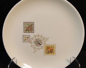 """Taylor Smith Taylor Brocatelle Bread Plate 6 1/2"""" Ever Yours EXCELLENT!"""