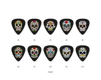 Set of 3 Misfits Crimson Ghost Logo Guitar Pick Pack