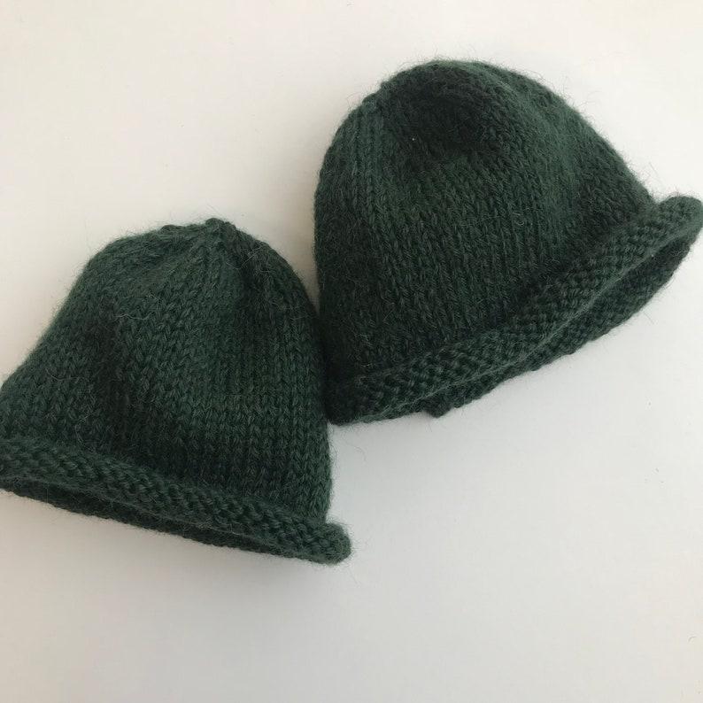 2c07d31d332 Alpaca Baby Beanie Knitting Kit