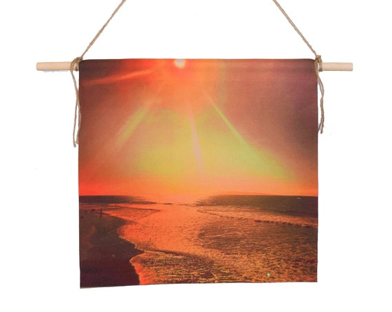 'California Sunrise' Canvas Wall Hanging