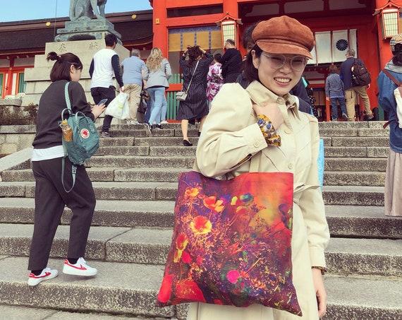 'Poppy' Tote Bag