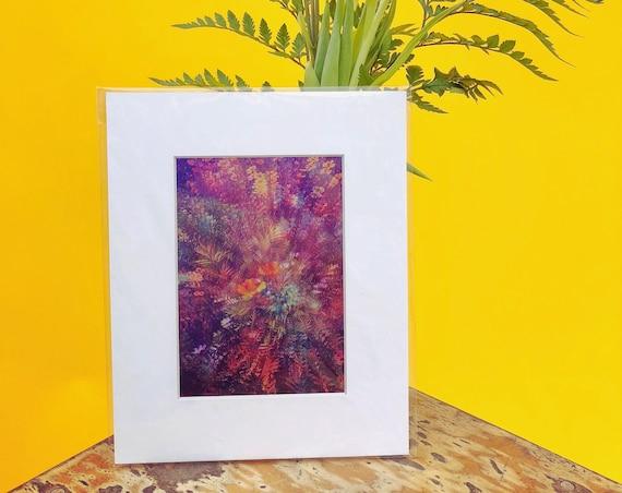 'In Bloom' Metallic Print