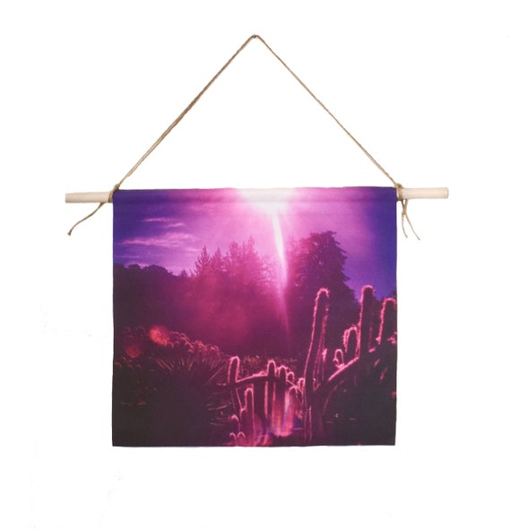 'Big Sur Sunshine' Canvas Wall Hanging