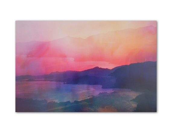 'Pastel Sunset' Print
